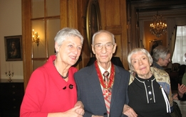 Mit Jurij Schmidt und Ludmilla Alexejewa