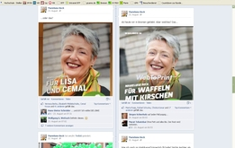 44:20 bei Facebook - Die Abstimmung über das Kopfplakat