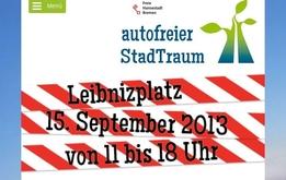 Die Neustadt bleibt an einem Tag autofrei.