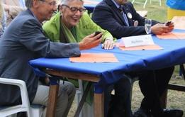 Auch PolitikerInnen spielen gern.