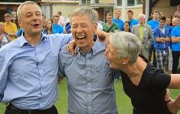 Die Bremer Sportjugend sorgt für gute Laune abseits der Podien.