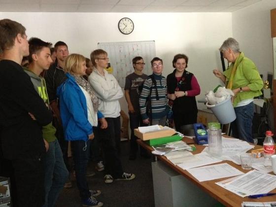 Tobias Schule zu Besuch im Grünen Büro