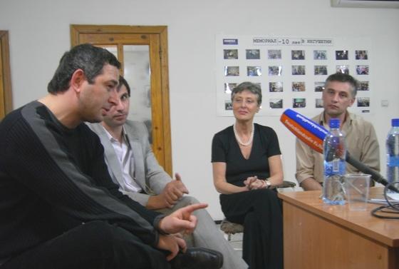 Im Büro von Memorial in Nasran, Inguschetien, am 18. November 2010.