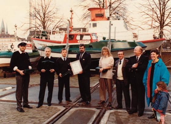 Einweihung 1988