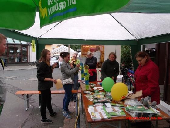 Wahlkampf auf der Straße