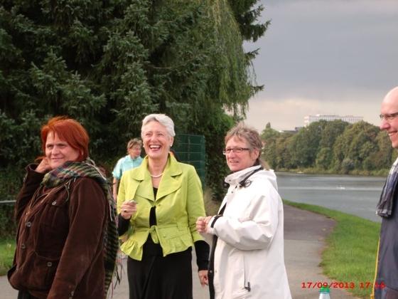 Der Werdersee wird noch grüner