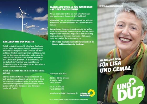 Was will die Bremer Spitzenkandidatin? Lesen Sie hier.