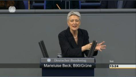 Marieluise Beck: Plenarrede Assoziierungsabkommen 16. Januar 2015
