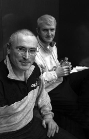 Chodorkowski und Lebedew