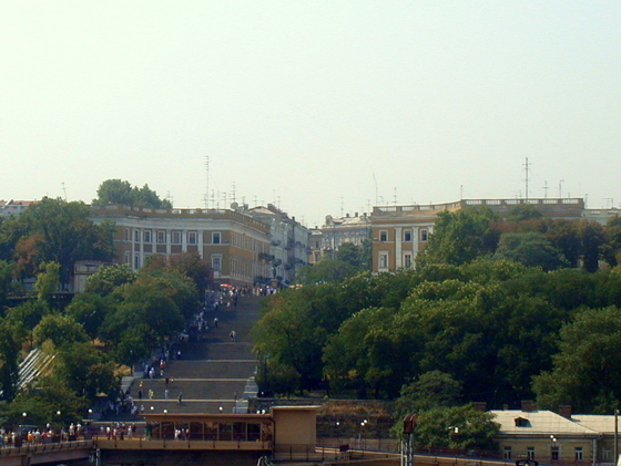 Potemkinsche Treppe in Odessa
