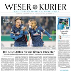 Titel Weser Kurier