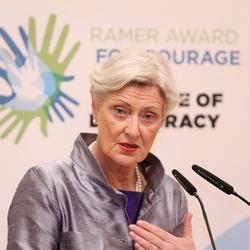 Marieluise Beck Rede beim AJC Ramer Award