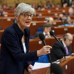 Marieluise Beck Europaratsrede 9.4.2014 zur Lage Ukraine